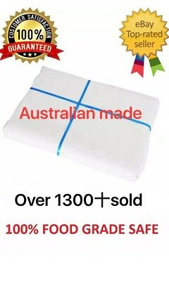 5kg of 610x810mm 250 Sheets White Butchers Paper Sheets Aus Made !