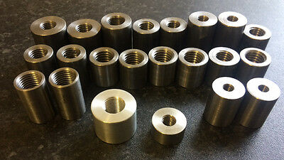 "M6 M8 M10 M12 M14 3/8"" 1/2"" 5/8"" 7/16"" UNF Threaded Bush Insert"