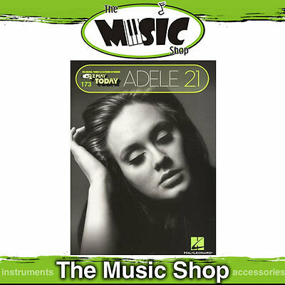 New EZ Play #173 Adele 21 Music Book - Easy Play - E-Z Play