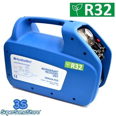 3S New Refrigerant Recovery Machine 1 Hp Unit Vrr24A High Volume R32 R410A R134A