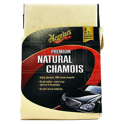 Meguiars Premium Natural Chamois 4sq. ft