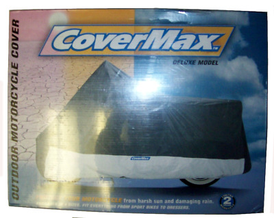 Deluxe Motorcycle Cover Touring//Full Dress Extra Large CMD-150 Covermax