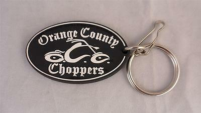 "NEW Lot of 2 Orange County Choppers Rubber Keychains Zipper Pull 2-1/2"" x 1-1/2"""