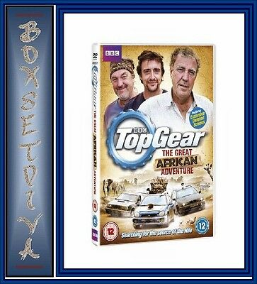 Top Gear - The Great African Adventure **Brand New Dvd **