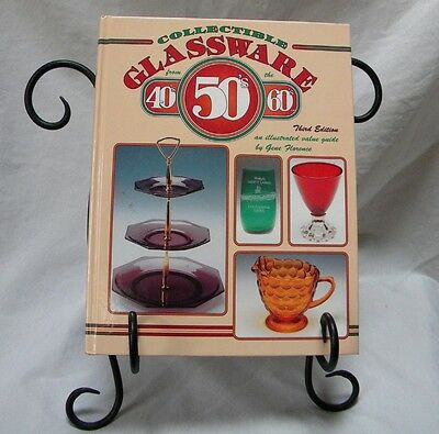 Collectible Glassware from the 40's, 50's 60's by Gene Florence Value Guide Book