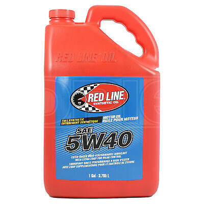 RED LINE High Performance Synthetic Motor Oil 5W-40 1 US Gallon 3.78 litre