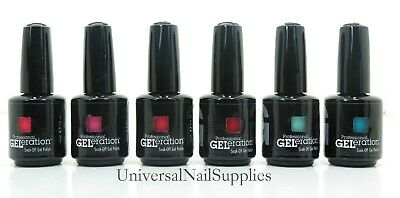 New Jessica GELeration Nail Gel Polish 2013 Collection Set Of 6  .5 fl oz Each