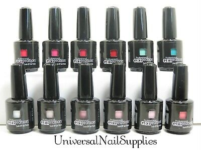 New Jessica Geleration Nail Gel Polish 2013 12 Color Set (15 mL - .5 fl oz)