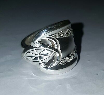 Old Colony 1911 Vintage Silver Spoon Ring