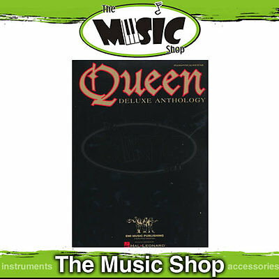 New Queen Deluxe Anthology PVG Music Book - Piano, Vocal, Guitar