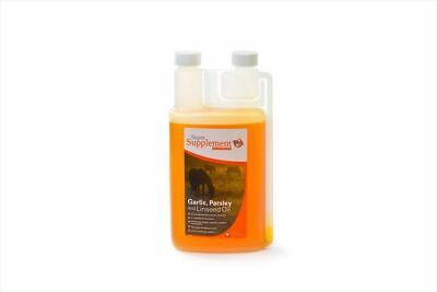 Super Supplement Garlic Parsley & Linseed Oil - Horse Pony - 1 litre