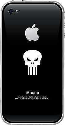 The Punisher Skull Logo Sticker Window Wall Decal iPhone Var Sz & Clrs to Choose