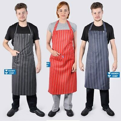 Quality Chef Bib Aprons with Pocket -see handychef for chef jackets,pant,caps,