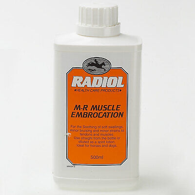 Radiol M-R Muscle Embrocation - Horse/Pony Muscle Care - 500ml