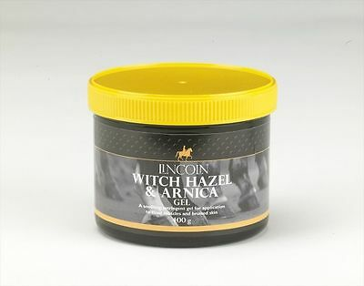 Lincoln Witch Hazel & Arnica Gel - Horse Pony Care - 400g