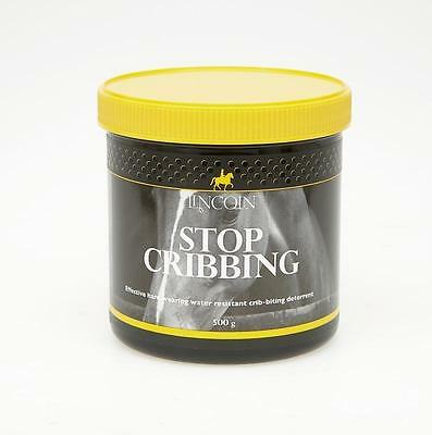 Lincoln Stop Cribbing Grease - Horse Pony Care - 500g