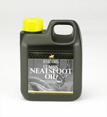 Lincoln Classic Neatsfoot Oil - 1 litre