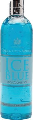 Ice Blue Eventing Leg Cooler - Horse Pony Care - 500ml