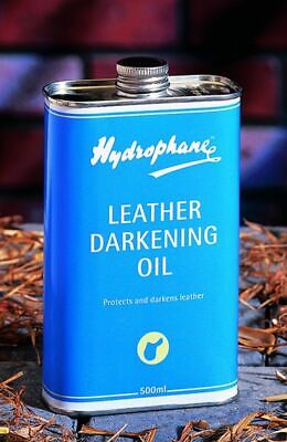Hydrophane Leather Darkening Oil - Horse Tack Cleaning/Care - 500ml
