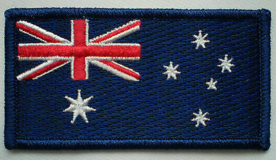 Iron On Aussie Flag & Australia Coat Of Arms Patch Pack ! Be Aussie Sport Proud!