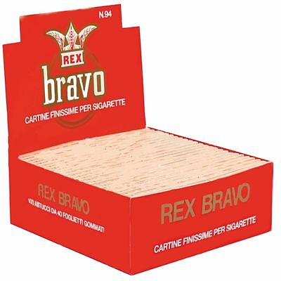 Cartine BRAVO REX corte FINISSIME regular scatola 100pz