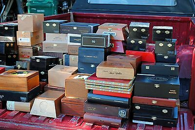 Stamps USA - Cigar Box w/3000++ Stamps (1880's to 1980's) Many Better
