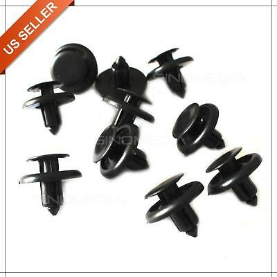 60pcs Bumper Fender Hood Retainer Clips Fasteners 90467-07166