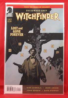 Witchfinder: Lost Gone Forever #1 Cover A; Mignola Bagged and Boarded NM/M+!