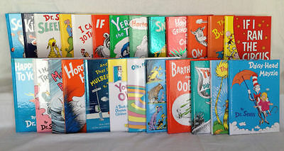 Dr. Seuss Series Complete Collection Set! 58 Brand New Hardcover Classic Books!!