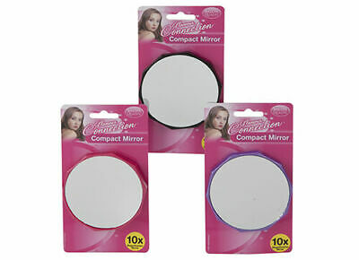 magnifying mirror 15 x magnification close up contact new lenses make up suction