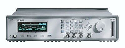Agilent HP 81110A Pulse Pattern Generator 165/330 MHz with 2 x Agilent HP 81112A