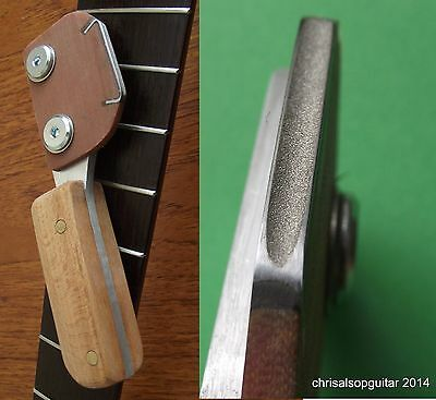 Diamond Fret Crowning File - 35mm by 2.5mm concave profile file TF080