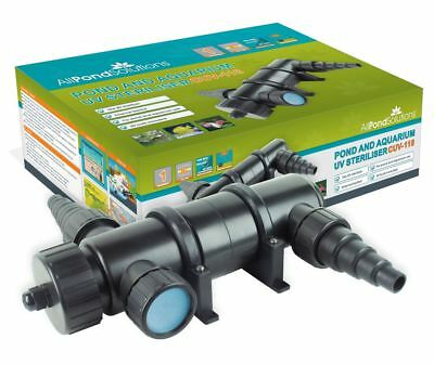 Pond / Aquarium UV Light Steriliser - Ultra Violet Clarifier - Koi Fish Tank