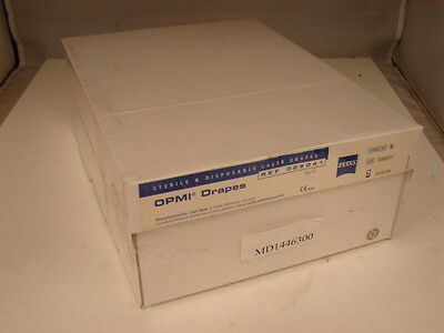 Zeiss Ref 326041 Opmi Sterile And Disposable Laser Drapes (Box Of 10) ***Nib***