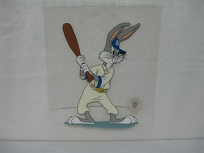1992 Warner Brothers Bugs Bunny Baseball Limited Edition Looney Toons Sericel