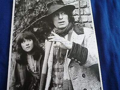 TOM BAKER signed Autogramm  20x30 cm  DOCTOR WHO