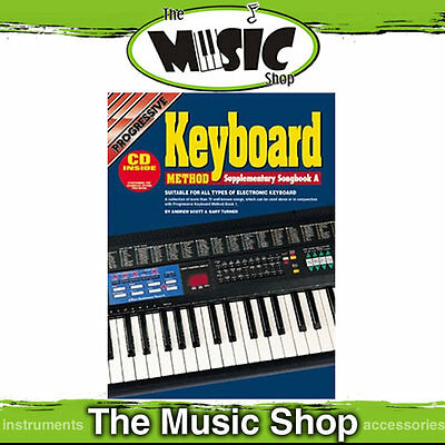 New Progressive Electronic Keyboard Method Supplementary Songbook A with CD