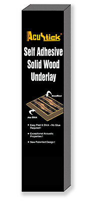 Acoustic Underlay for Solid Wood Floors, Self Adhesive - Identical to Diall