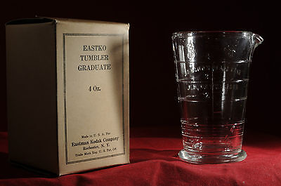 Kodak Eastko Tumbler/graduate 4 Oz. With Box