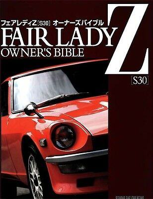 NISSAN DATSUN S30 Fairlady Z Owners Bible Hard cover Book.