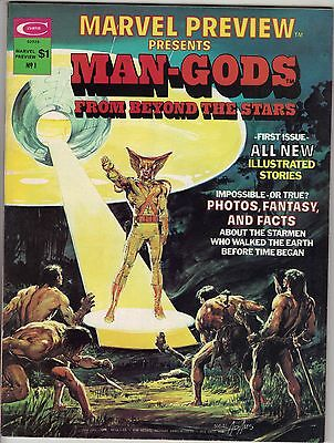 1975  Marvel Preview Presents Man-Gods From Beyond the Stars #4   Magazine