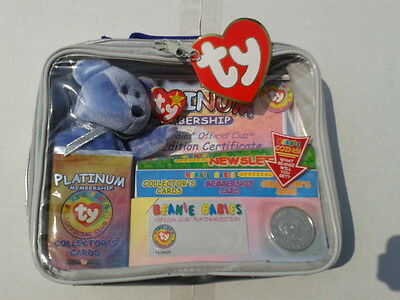Ty Beanie Babies Platinum Bag Set ! New  12 Sets For Only Sets £60.00