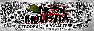 METAL MULISHA BANNER #8, Flag Sign Motocross Dirtbike Moto Wall Art