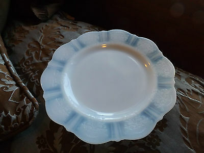 American Sweetheart Monax Depression Glass Luncheon Plate 9 1/4""