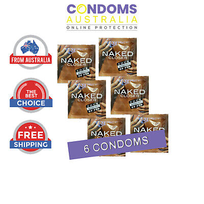 Four Seasons Naked Closer Condom (6 Condoms) SAMPLE PACK FREE SHIPPING