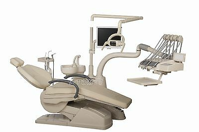 TuoJian Dental Unit Chair Controlled Integral D4 Model Soft Leather FDA CE