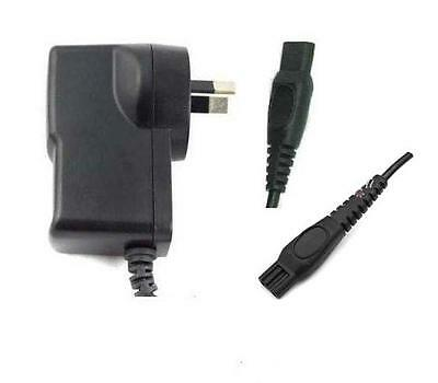AU Plug For PHILIPS Shaver Charger Power Lead Cord *(FITS MOST PHILIPS TYPES)*