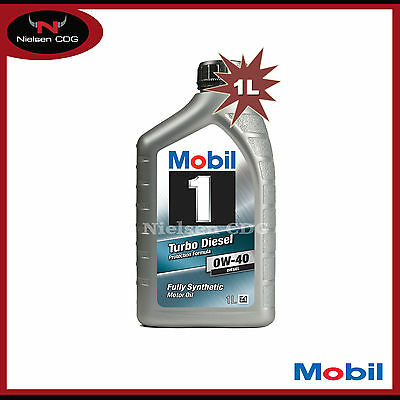 Mobil 1 0w-40 Turbo Diesel Fully Synthetic Engine Oil - 1L