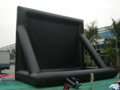 New 16X9 Vbi Inflatable Movie Screen Now $1,999.00 Free Blower