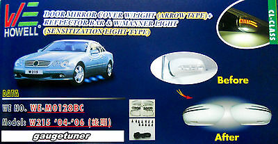 Mercedes W203 C200//230//280//300//350 AMG 2000-07 CUSTOM PAINTING LED Mirror Cover